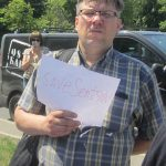 Акція Фрі Сенцов під посольством РФ в Києві - фото 9