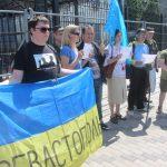 Акція Фрі Сенцов під посольством РФ в Києві - фото 11