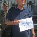 Акція Фрі Сенцов під посольством РФ в Києві - фото 14
