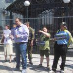 Акція Фрі Сенцов під посольством РФ в Києві - фото 20