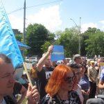 Акція Фрі Сенцов під посольством РФ в Києві - фото 6