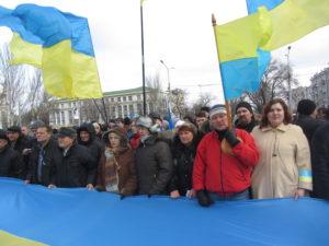 Хроника донецкого Евромайдана